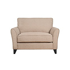 Debenhams - Textured 'Fyfield Barley' loveseat
