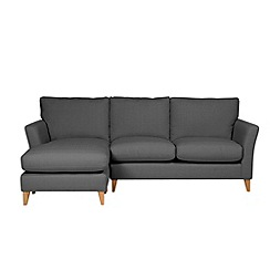 Debenhams - Large 'Stockholm' chaise corner sofa