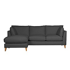 J by Jasper Conran - Large 'Farringdon' chaise corner sofa