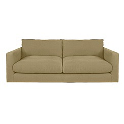 RJR.John Rocha - Large flat weave fabric 'Trinity' sofa