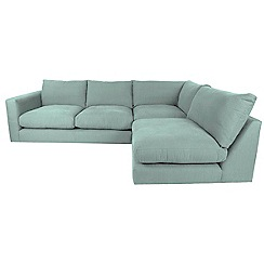 RJR.John Rocha - Flat weave fabric 'Trinity' right-hand facing corner sofa