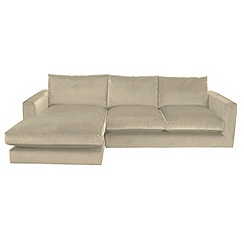 RJR.John Rocha - Trinity' left-hand facing chaise corner sofa