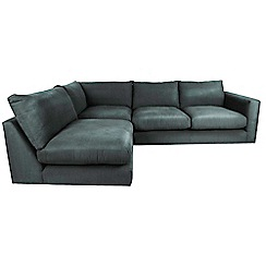Debenhams - 'Slouchy' left-hand facing corner sofa