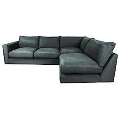 Debenhams - 'Slouchy' right-hand facing corner sofa
