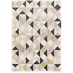 Ben de Lisi Home - Multi-coloured wool 'Rubik' rug