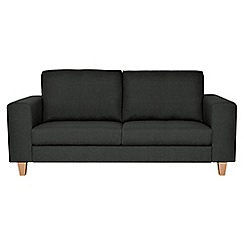Ben de Lisi Home - Dark grey medium super-soft 'Cara Shetland' sofa