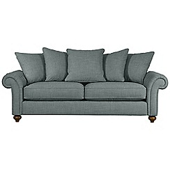 Debenhams - Extra-large 'Bloomsbury Chesterfield' pillow back sofa