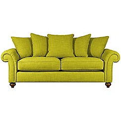 Debenhams - Large 'Bloomsbury Chesterfield' pillow back sofa