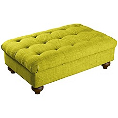 Debenhams - Bloomsbury Chesterfield' footstool