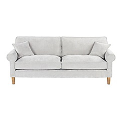 Debenhams - Extra-large velour 'Delta' sofa