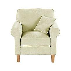 Debenhams - Velour 'Delta' armchair