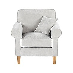 Debenhams - Velour 'Delta' armchair