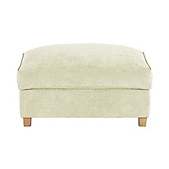 Debenhams - Velour 'Delta' footstool