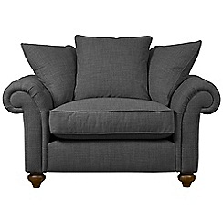 Debenhams - 'Bloomsbury Chesterfield' pillow back loveseat