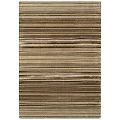 Debenhams - Brown wool 'Pimlico' rug