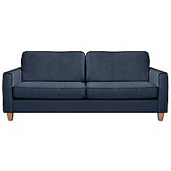 Debenhams - Extra-large flat weave fabric 'Dante' sofa