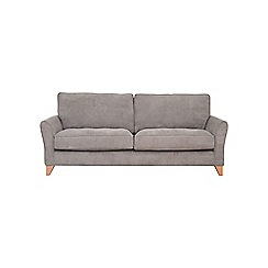 Debenhams - 4 seater velour 'Fyfield' sofa