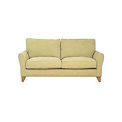 Debenhams - Large velour 'Fyfield' sofa