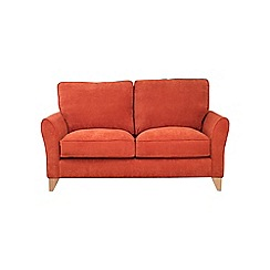 Debenhams - Medium velour 'Fyfield' sofa