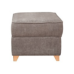 Debenhams - Velour 'Fyfield' footstool