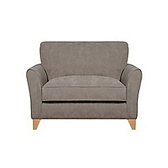 Debenhams - Velour 'Fyfield' loveseat