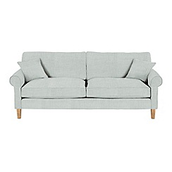 Debenhams - Extra-large flat weave fabric 'Delta' sofa