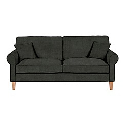 Debenhams - Large flat weave fabric 'Delta' sofa