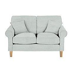 Debenhams - Medium flat weave fabric 'Delta' sofa