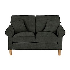 Debenhams - Medium flat weave fabric 'Delta' sofa