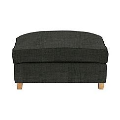 Debenhams - Flat weave fabric 'Delta' footstool