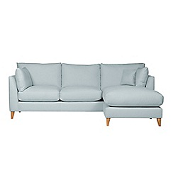 J by Jasper Conran - Large 'New Farringdon' chaise corner sofa