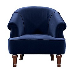 Debenhams - Velvet 'Chesterfield Deluxe' armchair
