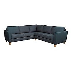 Debenhams - Flat weave fabric 'Dante' corner sofa