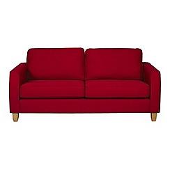 Debenhams - Large flat weave fabric 'Dante' sofa