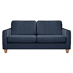 Debenhams - Large flat weave fabric 'Dante' sofa