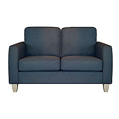 Debenhams - Small flat weave fabric 'Dante' sofa