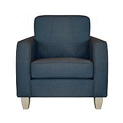 Debenhams - Flat weave fabric 'Dante' armchair