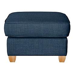 Debenhams - Flat weave fabric 'Dante' footstool