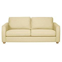 Debenhams - 3 seater flat weave 'Dante' sofa bed