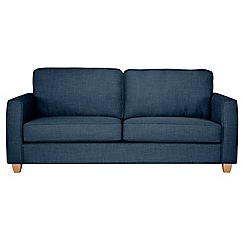 Debenhams - 3 seater flat weave 'Dante' sofa bed