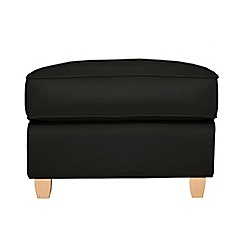 Debenhams - Leather 'Dante' footstool