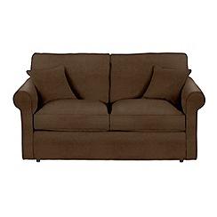 Debenhams - Leather-look 'Delta' sofa bed