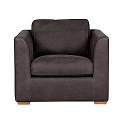 Debenhams - Leather 'Paris' armchair