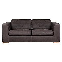Debenhams - Medium leather 'Paris' sofa