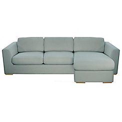 Debenhams - 'Paris' right-hand facing chaise corner sofa