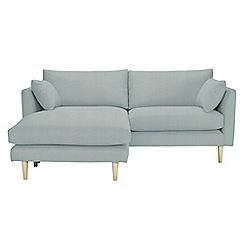 RJR.John Rocha - Flat-weave fabric 'Ravello' chaise corner sofa