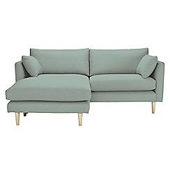RJR.John Rocha - Textured 'Ravello' chaise corner sofa