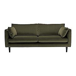 RJR.John Rocha - Large velvet 'Ravello' sofa