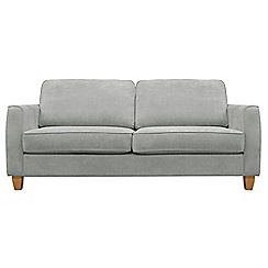 Debenhams - Large velour 'Dante' sofa