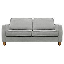 Debenhams - Medium velour 'Dante' sofa